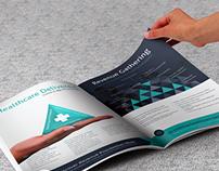 Flyer Design Concept for HealthCare Startup