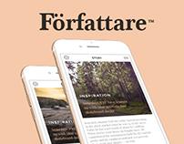 Författare Mobile App
