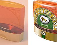 Golden Syrup Packs - Before and After