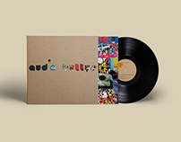 vinyl cover design — Audio Bullys