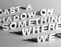 Shadow Typography