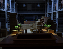 Library model : WIP