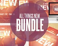 All Things New Church Template Bundle
