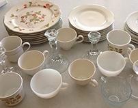 Vintage Tea Cup Stands