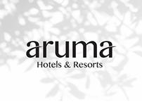 Branding for Aruma Hotels & Resorts
