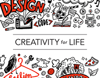 Creativity for Life Poster