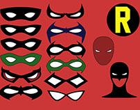 The masks of Robin