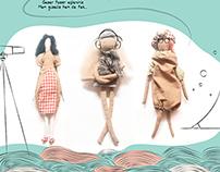 Handmade Dolls and Clothing