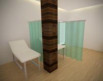 Aesthetic room design simulation