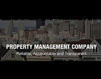 Property Management Consultant Website Design