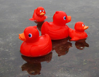 Red Ducks, British Heart Foundation
