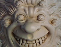 Uncle Six Eyes Resin Bust