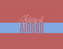 History of AirBnb | Motion Graphic |
