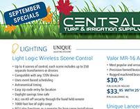 Central Irrigation Mailer