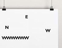 Minimalist / typographic posters