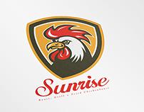 Sunrise Fried Chicken House Logo