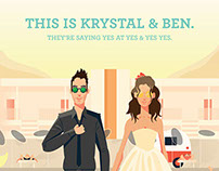 The Yes & Yes Yes Wedding