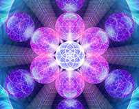 Fibonacci Flower Mandala