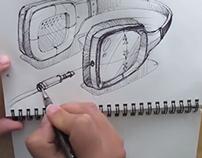 VIDEO sketch process