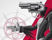 Royal Blood - Gun For A Mouth Poster