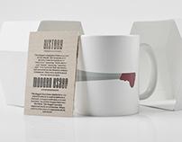 Typographic Mug - Dagger
