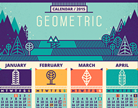 Calendar / 2015 & Pattern