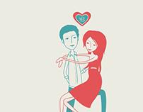 Save The Date Animation - Yasmine & Tarek