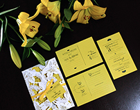 Alyssia & Vincenzo - Wedding Invitation Suite