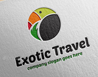 Exotic Travel Logo Template