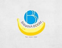 Banana Boom Logo Design