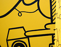 WALL MURAL / BUSINESS. Spritz Creative. London