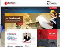 Tradewind group - website design
