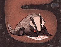 Badger Stayed In