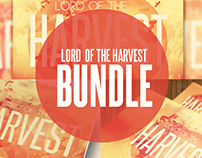 Lord of the Harvest Church Template Bundle