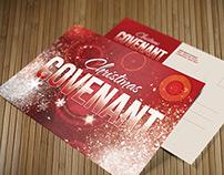 Christmas Covenant Church Postcard