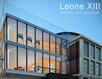 AR 4DRAW - Architectural project of Leone XIII school