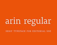 Arin Typeface
