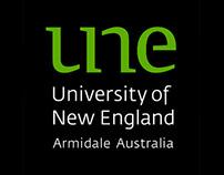 Welcome to UNE app design