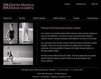 Ballet School Website