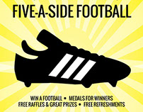 Five-a-side Football Flyers