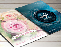 Sofia Photography | Flyer design