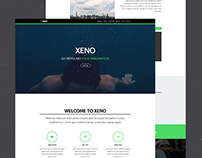 Xeno - One Page Muse Template