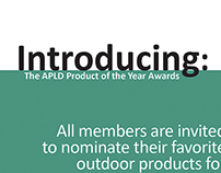 Branding: APLD Product of the Year