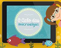 Aplicativo educativo: O Ciclo das microalgas.