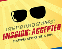 Mission Accepted: Customer Service Week 2014