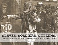 Slaves, Soldier, Citizens Exhibit Book