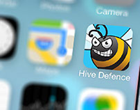 Hive Defense iOS, Android game