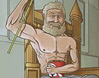 Zeus Loved KFC