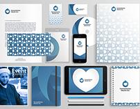 humanitarian heart Inc. Visual identity