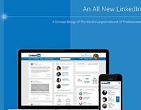 LinkedIn Redesign Concept - An Alternate Perspective